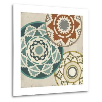 Basket Motif III-June Erica Vess-Metal Print