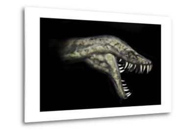 Hydrotherosaurus Portrait-Stocktrek Images-Metal Print