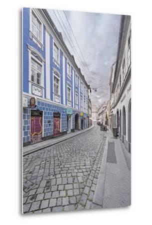 Lower Town Street-Rob Tilley-Metal Print
