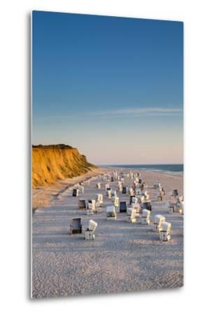Red Cliff, Kampen, Sylt Island, Northern Frisia, Schleswig-Holstein, Germany-Sabine Lubenow-Metal Print