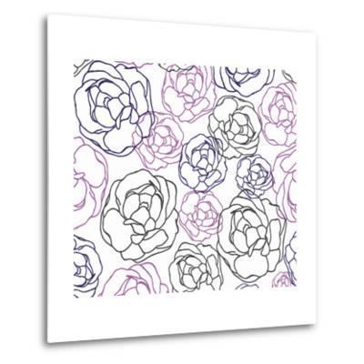 Cottage Rose Garden I-Ali Benyon-Metal Print