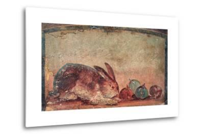Rabbit Easting Figs, C. 45-79--Metal Print
