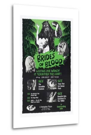 Brides of Blood, 1968--Metal Print