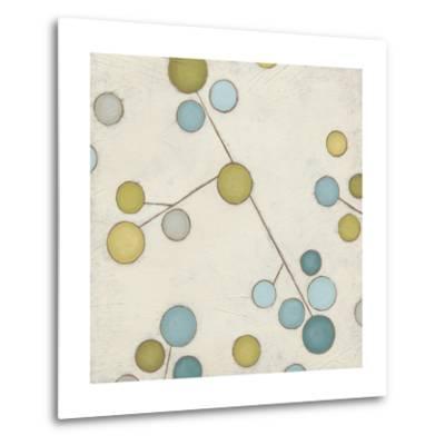 Molecular Blossoms IV-June Erica Vess-Metal Print