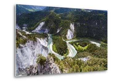 Canyon of the River Rhine-Frank Lukasseck-Metal Print