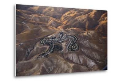 The Desert near the Dead Sea.-Stefano Amantini-Metal Print
