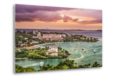 Cruz Bay, St John, United States Virgin Islands.-SeanPavonePhoto-Metal Print