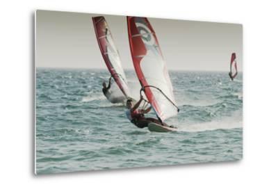 Windsurfing; Tarifa Cadiz Andalusia Spain-Design Pics Inc-Metal Print