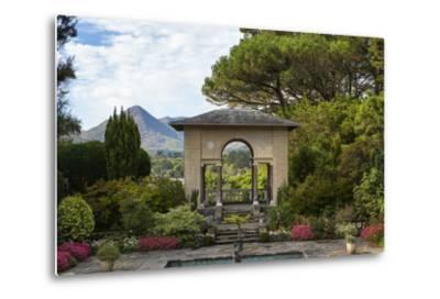 The Italian Garden at Garnish Island in Glengarriff, County Cork-Chris Hill-Metal Print