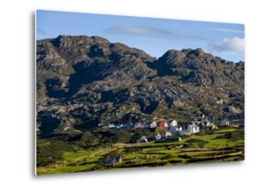 Allihies and Slieve Miskish Mountains, Beara, County Cork-Chris Hill-Metal Print