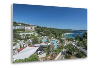 Croatia, Dalmatia, Hvar, Amfora Hvar Grand Beach Resort-Rob Tilley-Metal Print