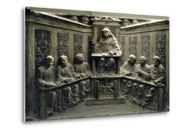 Teaching at the University, from the Tomb of P.Canonici--Metal Print
