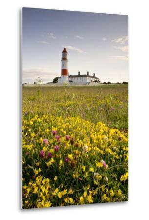 Souter Lighthouse; South Shields Marsden South Tyneside Tyne and Wear England-Design Pics Inc-Metal Print