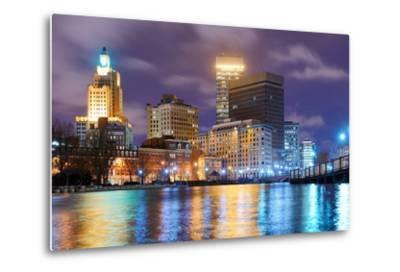 Providence, Rhode Island Was One of the First Cities Established in the United States.-SeanPavonePhoto-Metal Print