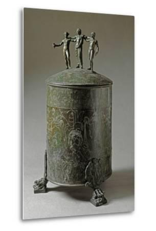 The Ficoroni Cista, with Scenes of the Argonauts Myth--Metal Print