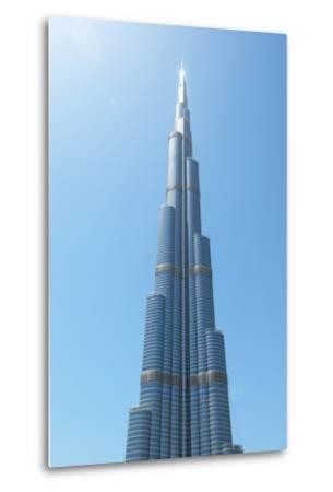 Detail of the Burj Khalifa; Dubai, United Arab Emirates-Design Pics Inc-Metal Print