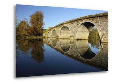 Bridge over River Nore; Bennettsbridge, County Kilkenny, Ireland-Design Pics Inc-Metal Print