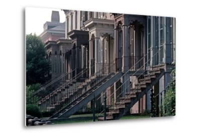 Historic Savannah, Bull Street, Savannah, Georgia, Usa, July 1983-Alain Le Garsmeur-Metal Print