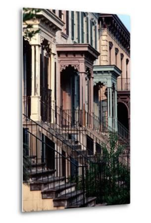 Historic Savannah, Bull Street, Savannah, Georgia, Usa, July 1983-Alain Le Garsmeur-Metal Print
