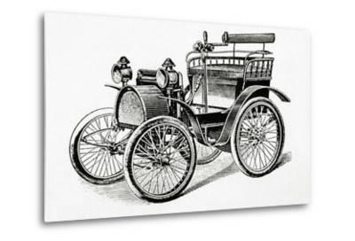 Car. 19Th Century. Engraving.-Tarker-Metal Print