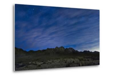The Organ Mountains in Southern New Mexico-Michael Melford-Metal Print