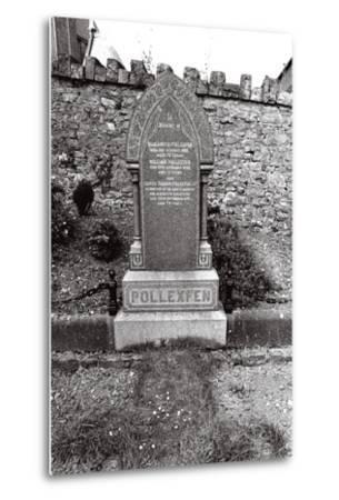 W.B. Yeats, Ireland-Alain Le Garsmeur-Metal Print