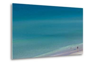 Australia, Fleurieu Peninsula, Port Willunga, Elevated Beach View-Walter Bibikow-Metal Print