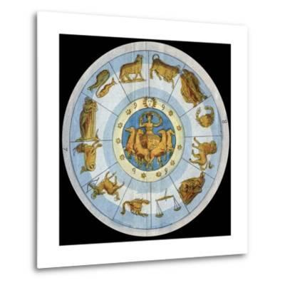 Astrological Sign-Stefano Bianchetti-Metal Print