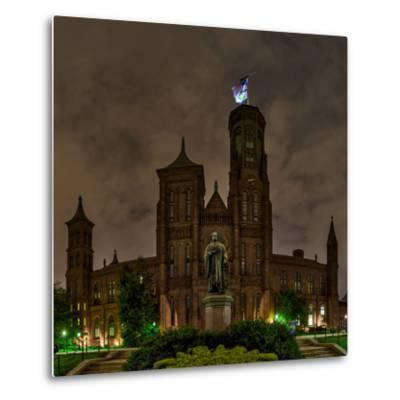 The Smithsonian Institution and Museum at Night-Babak Tafreshi-Metal Print
