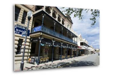 Colonial Buildings in Downtown Fremantle, Western Australia, Australia, Pacific-Michael Runkel-Metal Print