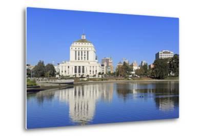 Alameda County Court House and Lake Merritt-Richard Cummins-Metal Print