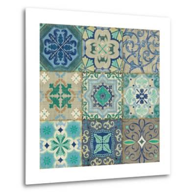 Santorini I-Pela Design-Metal Print