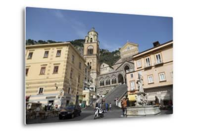 The Duomo Cattedrale Sant' Andrea in Amalfi-Martin Child-Metal Print