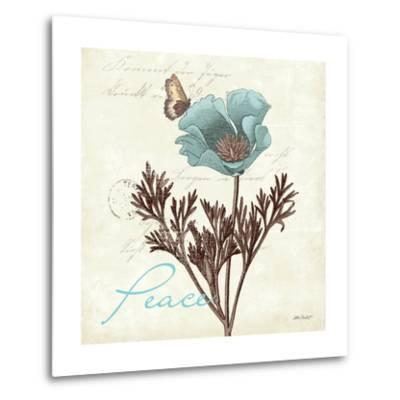 Touch of Blue I-Katie Pertiet-Metal Print