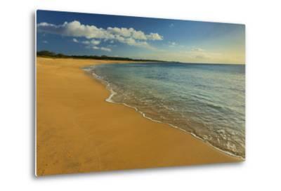 Two Mile Long Papohaku Beach, on the West End of Molokai Island-Richard Cooke-Metal Print