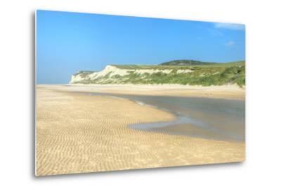 Wissant Beach Near Cap Blanc-Nez, Cote D'Opale, Region Nord-Pas De Calais, France, Europe-Gabrielle and Michel Therin-Weise-Metal Print