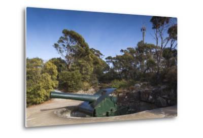 Australia, Albany, Princess Royal Fort, Mt Adelaide, Artillery-Walter Bibikow-Metal Print