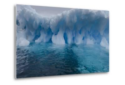 An Iceberg, Eroded by Sea Water-Jim Richardson-Metal Print