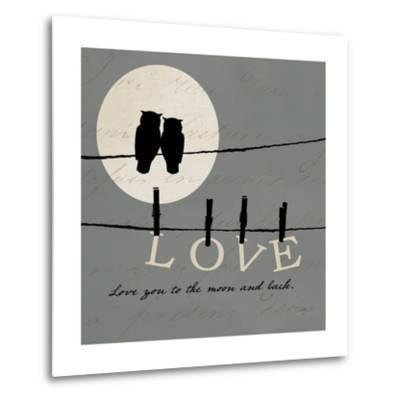 Moon Lovers I-Pela Design-Metal Print