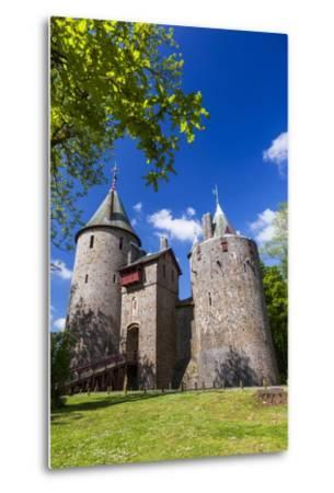 Castell Coch (Castle Coch) (The Red Castle), Tongwynlais, Cardiff, Wales, United Kingdom, Europe-Billy Stock-Metal Print