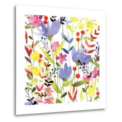 Annes Flowers Crop I-Anne Tavoletti-Metal Print