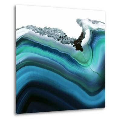 Turquoise Agate A--Metal Print