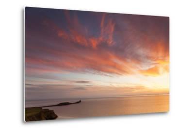 Rhossili Bay, Worms End, Gower Peninsula, Wales, United Kingdom, Europe-Billy Stock-Metal Print