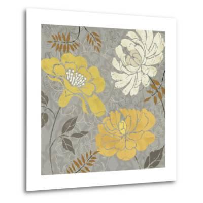 Morning Tones Gold-Daphne Brissonnet-Metal Print