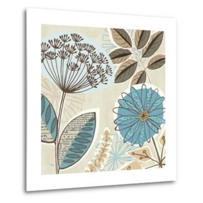 Funky Flowers IV-Pela Design-Metal Print