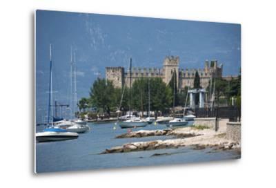 The Castle at Torre Del Benaco, Lake Garda, Italian Lakes, Veneto, Italy, Europe-James Emmerson-Metal Print