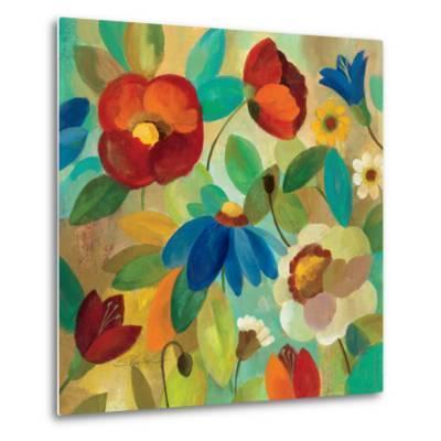 Summer Floral I-Silvia Vassileva-Metal Print
