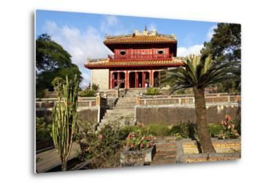 Minh Mang Tomb, UNESCO World Heritage Site, Hue, Vietnam, Indochina, Southeast Asia, Asia-Bruno Morandi-Metal Print