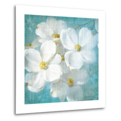 Indiness Blossom Square Vintage II-Danhui Nai-Metal Print