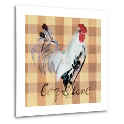Coq Blanc-Marilyn Hageman-Metal Print